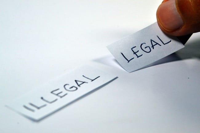 les mentions legales sur un blog
