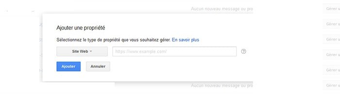 tuto google SearchConsole